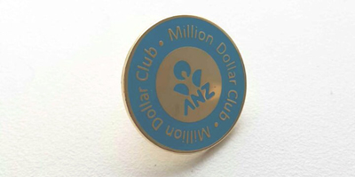 ANZ Million Dollar Club Pins