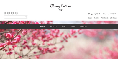Cherry Bottom Online Shop