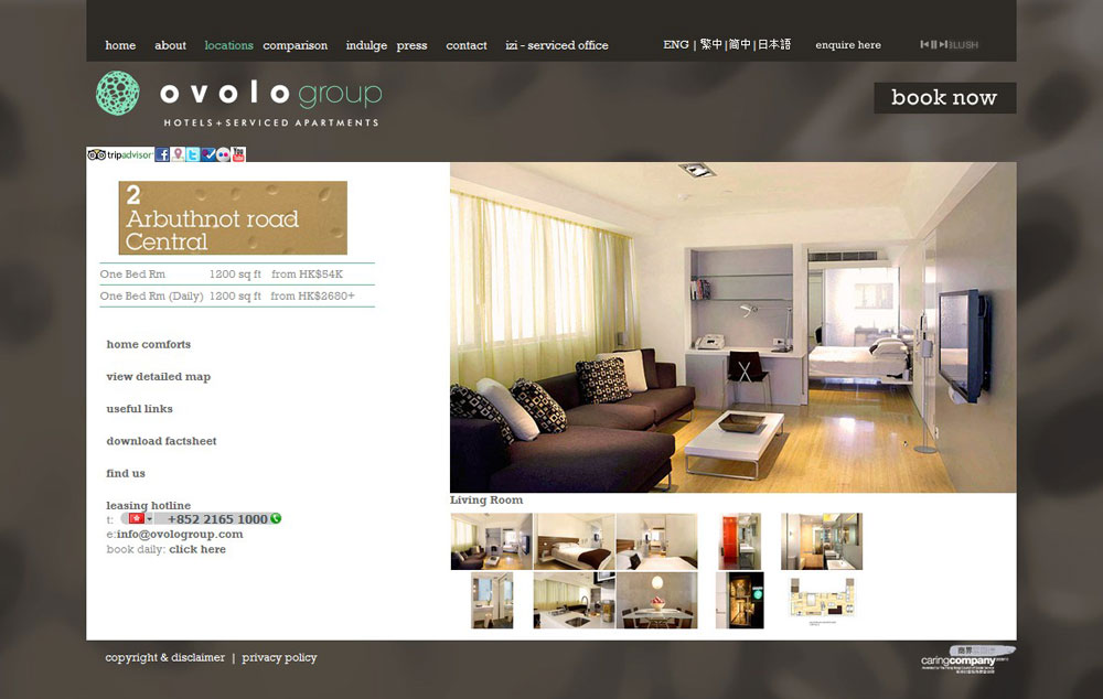 OVO Service Apartment